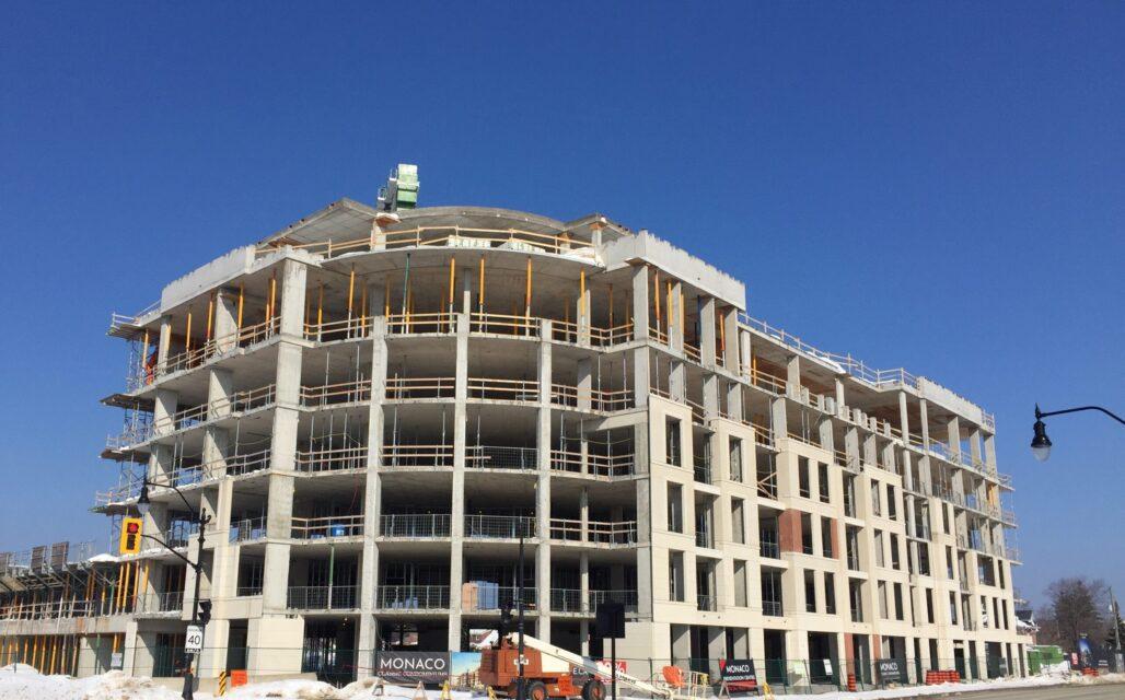 Monaco under construction
